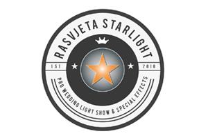 Rasvjeta Vjenčanja Starlight Logo