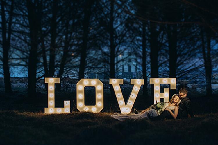 Light Wedding Split