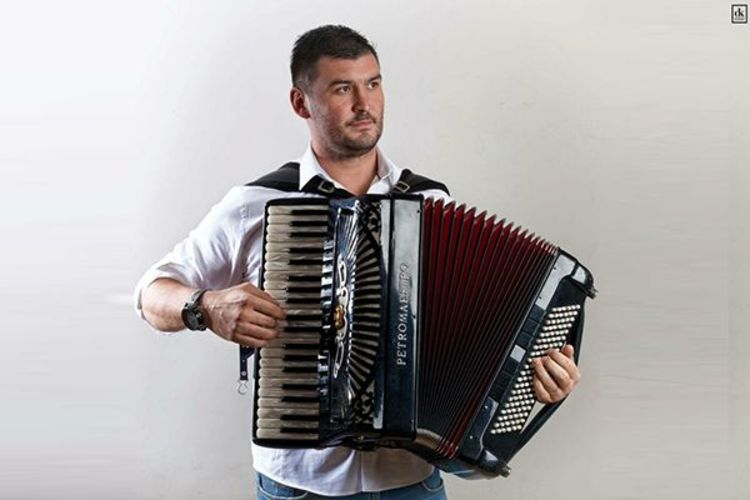 Accordionist Marino Franičević & band 2plus1