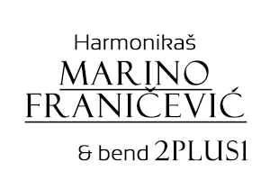 Accordionist Marino Franičević & band 2plus1 Logo