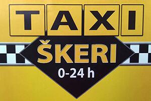 Taxi transfers Škeri Logo