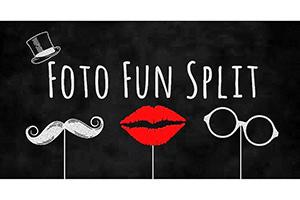 Photo Fun Split – Photo Booth Logo