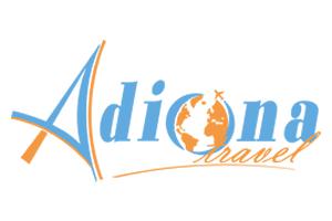 Adiona travel agency Logo