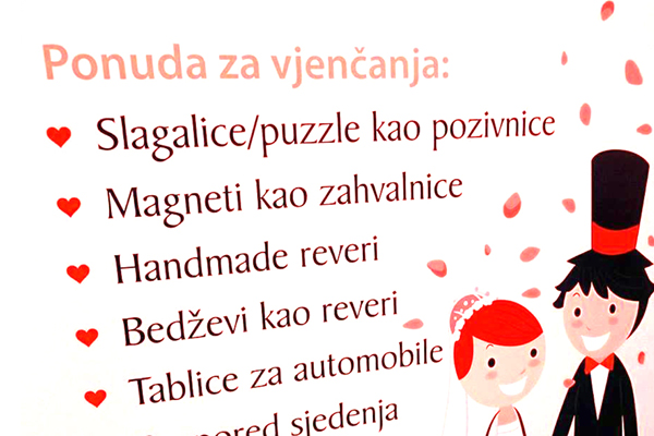 Vjenčanja Plus by Grafika Plus