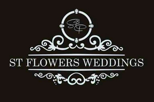 Flower shop ST Flowers Logo